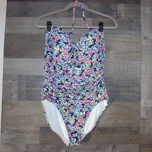 Anne Cole One piece swim suit size 16